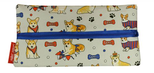 Selina-Jayne Corgi Dogs Limited Edition Designer Pencil Case
